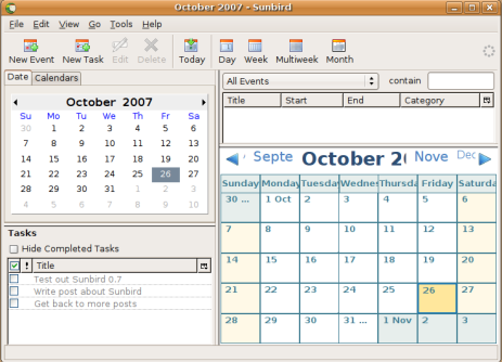 Manage iCal or Google Calendars with Sunbird/Lightning