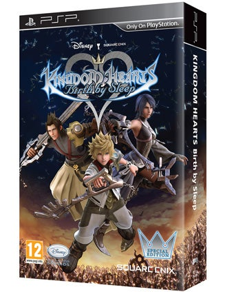 A Little Extra Kingdom Hearts: Birth By Sleep For Europe