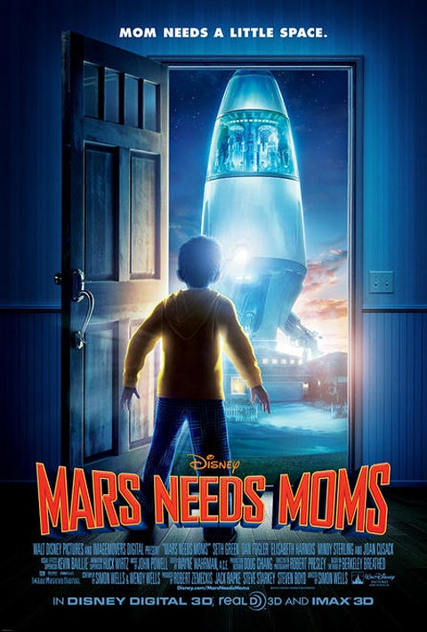First look at Disney's Mars Needs Moms
