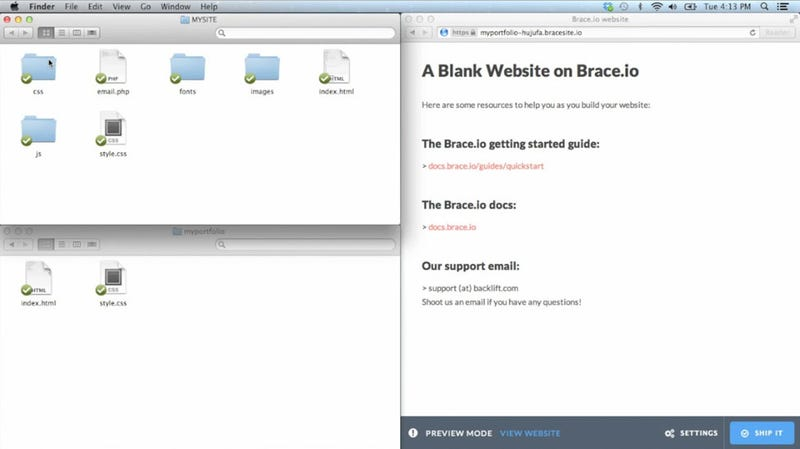 Brace Aims To Make Website Hosting Idiot Proof