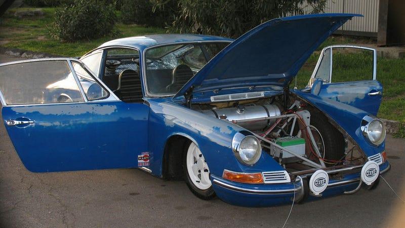Slammed Porsche 911T Gallery