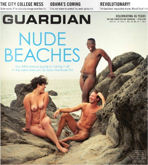 The SFBG Has Two Totally Naked Men On Its Cover This Week [NSFW]