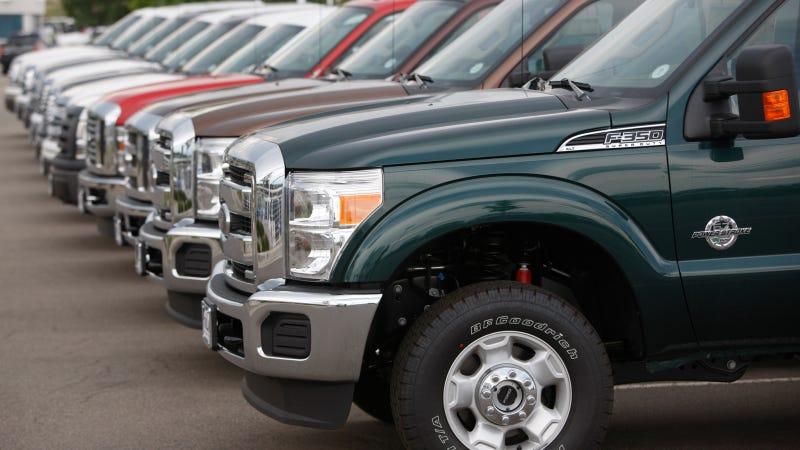 Ford Selling Plenty Of Pickups Despite Overall Sales Slump