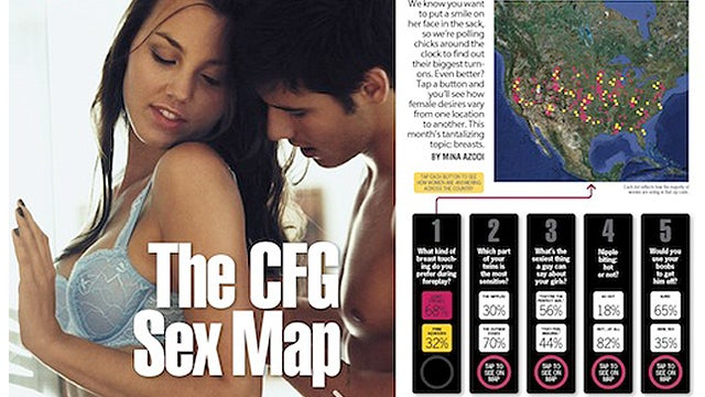 13 Things We Learned From The 'Cosmo For Guys' iPad App