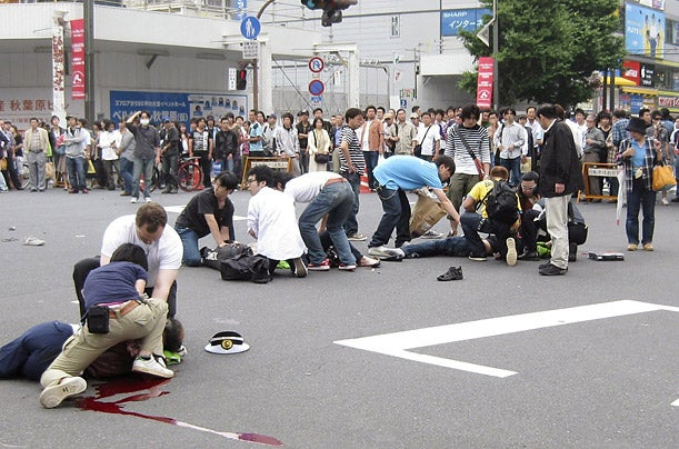 Cyber Bullying Blamed For Akihabara Stabbing Rampage