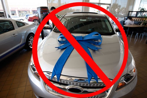 Sell No: Why You Don't Need A New Car