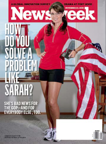 Sarah Palin Gets Her Criticism Of Newsweek Cover Right