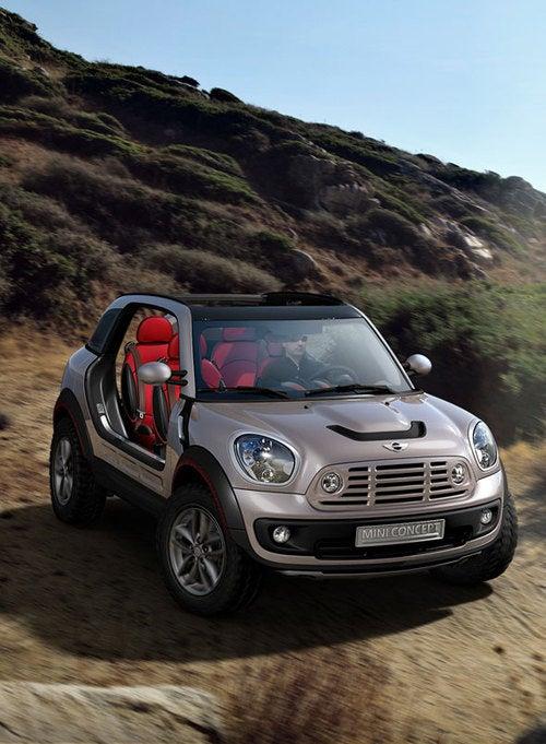 Mini Beachcomber Concept Previews Mini Crossman SUV