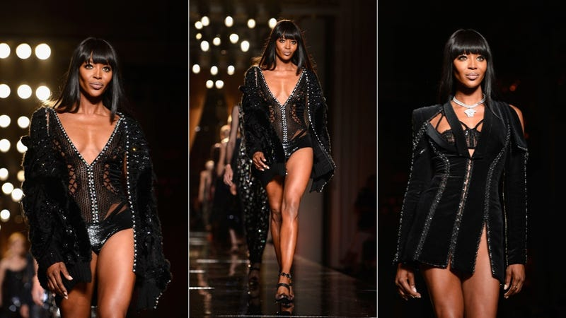Naomi Campbell Opens Couture Week Like a Boss