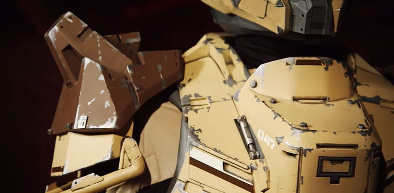 Full Suit Of Titan Armor Looks Like It Fell Out Of Destiny
