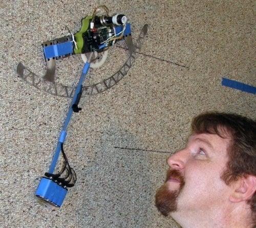 ROCR Bot Swings Up Walls Like a Monkey