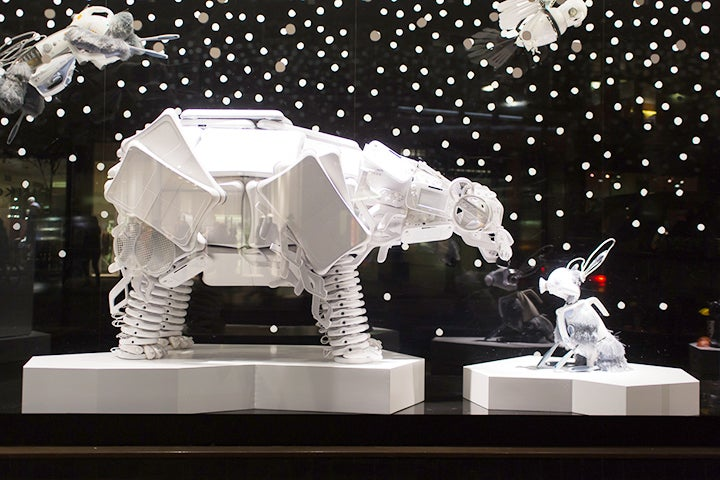 Shop window displays that should be in a museum