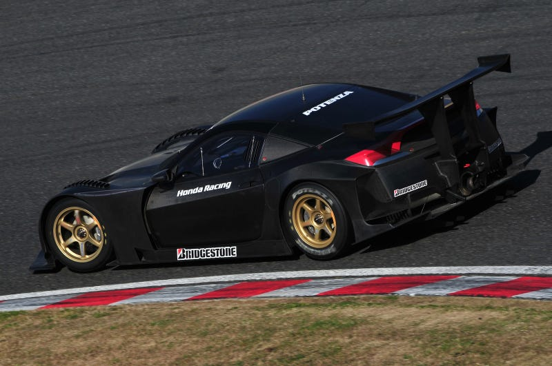 Honda HSV-010 GT: Epic Test Photos, Video Of NSX-That-Never-Was