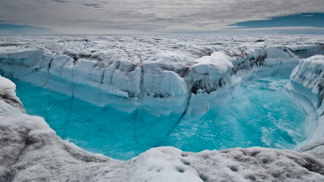 A huge reservoir of meltwater has been discovered beneath Greenland