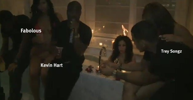 Diddy Party Heats Up, Sets Woman's Hair On Fire
