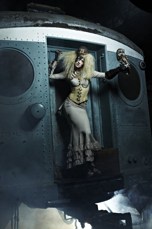 "Top Model does Steampunk, thinks Steampunk means ""Owl"""