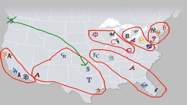 Our Simple Guide To MLB Realignment, Or: Sorry Seattle, You're Losing Another Team