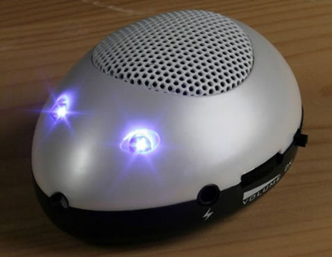 USB Mini Mouse Speaker Forgets its Input Obligations