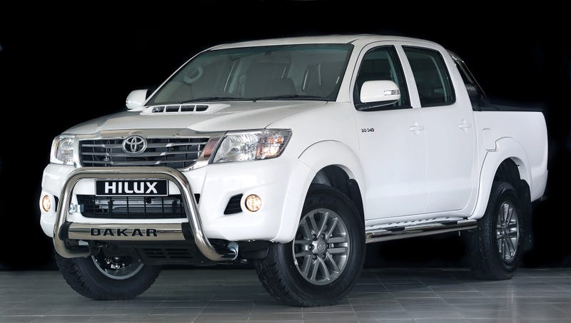 Toyota Hilux Dakar Is The Weakest 'Off-Road Edition' Ever