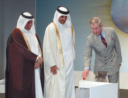 Prince Charles Begins Construction Of World's Largest GTL Plant