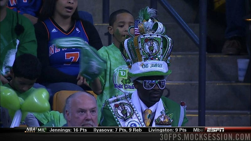 This Celtics Fan Must Not Know That Boston Has A History With Kings