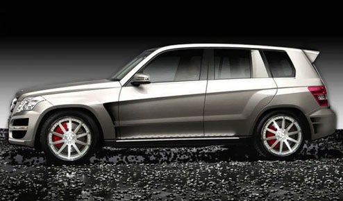 RENNTech Prepping Rally-Inspired Mercedes GLK Hybrid For SEMA