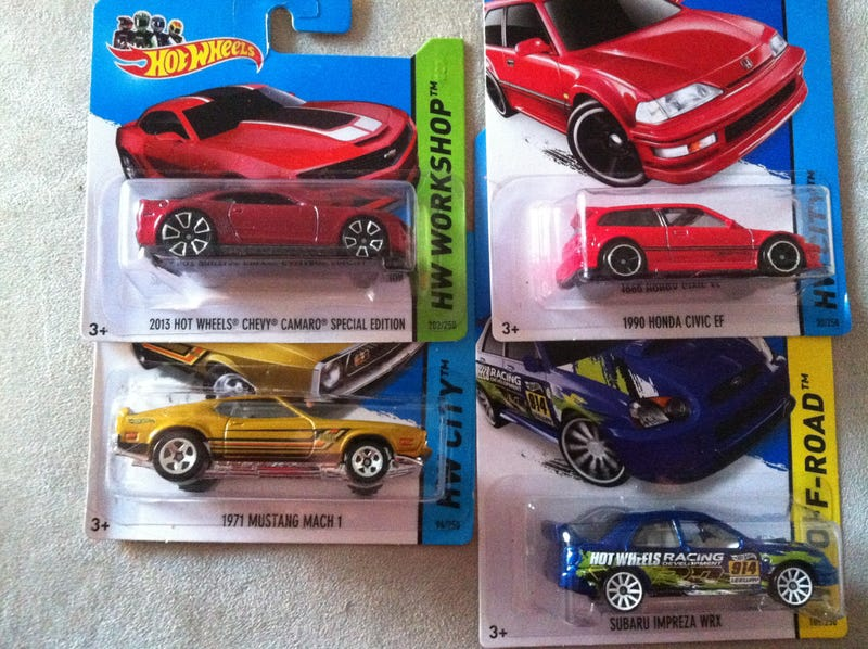 Haul-Mart - Four Cool Cars