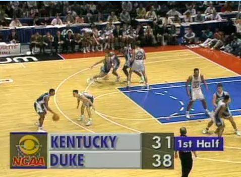 A Look Back At 30 Years Of March Madness TV Graphics