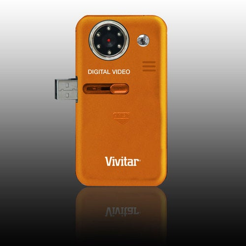Vivitar DVR 150: Infrared Night Vision Waterproof Pocket Camcorder