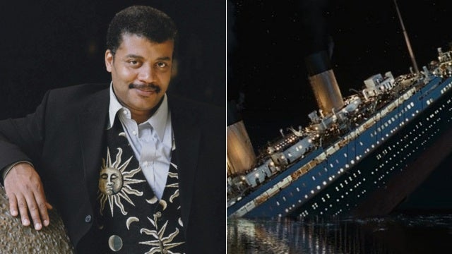 Neil deGrasse Tyson is behind the only major technical change in the Titanic re-release