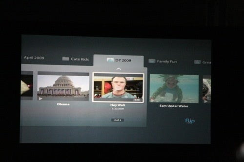 Pure Digital's Flip Camera's Software For Sharing With the Web, Livingroom and iPhone