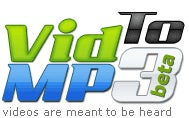 VidtoMP3 Converts Online Video Clips to MP3
