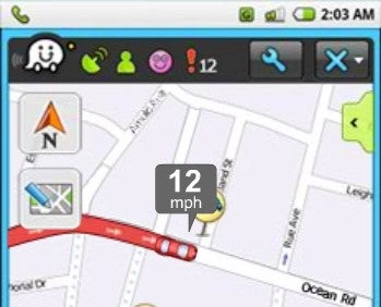 Waze Generates and Reports Real-Time Traffic Data on Your Phone