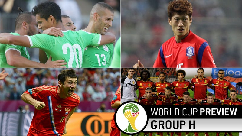 World Cup Group H Preview: A Dark Horse, A Couple Mules, And A Goat
