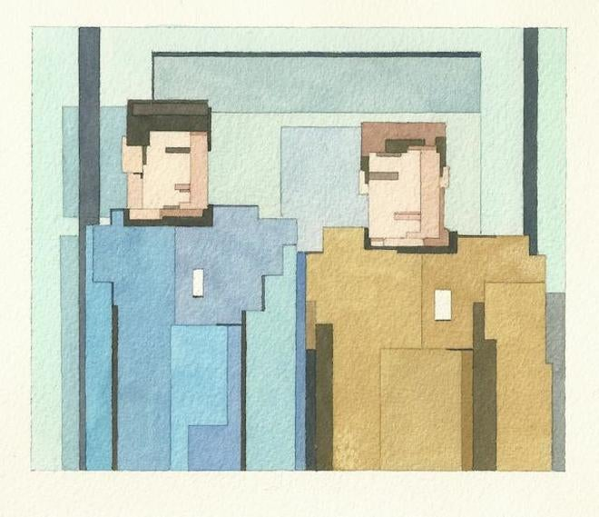 These Nerdy 8-Bit Watercolors Would Look Just Dashing in Your House