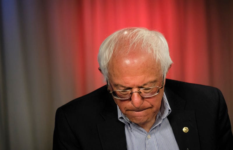 Bernie Really Fucked Up This Time