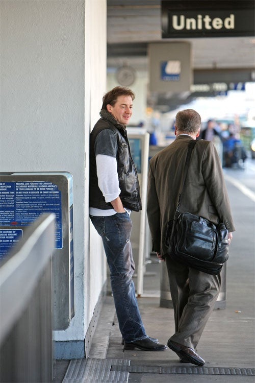 Brendan Fraser: The Pick-Up Artist
