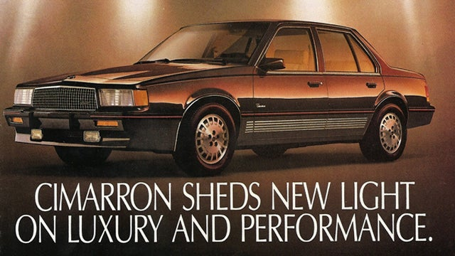 The Ten Most Embarrassing Cars From Great Carmakers