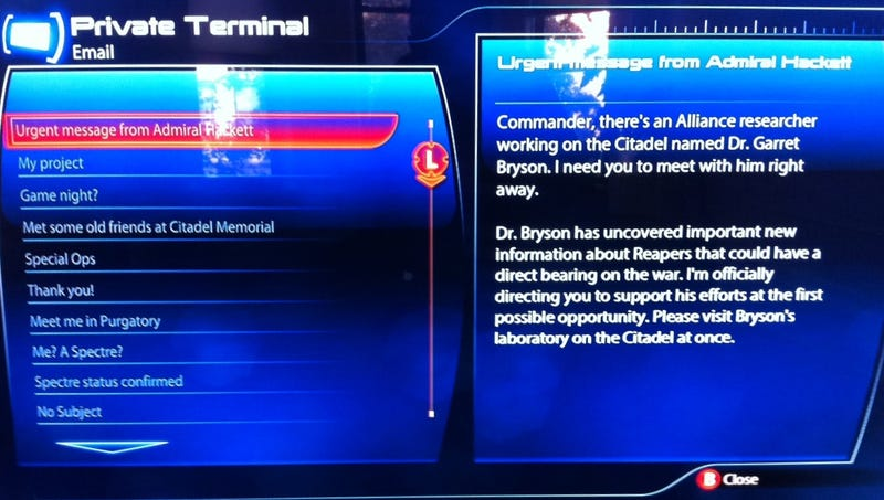 How To Start the Mass Effect 3 Leviathan DLC