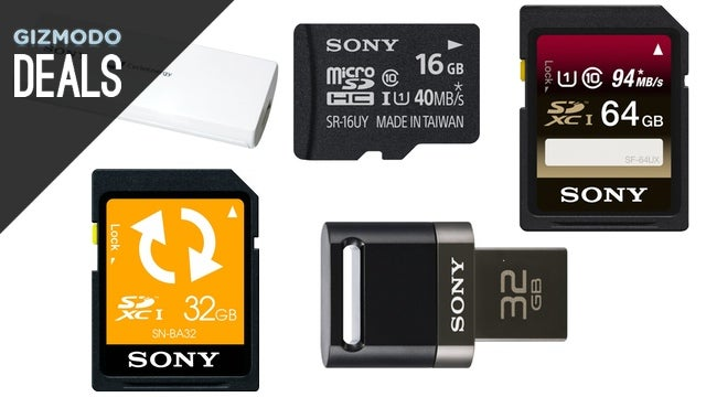The Best Tablets Around, $8 Lightning Cable, Sony SD Cards [Deals]