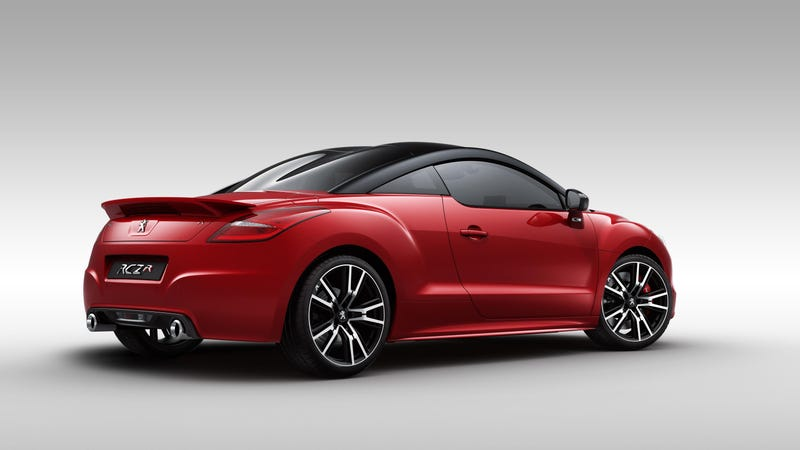 The RCZ R Is The Most Powerful Peugeot Road Car Ever