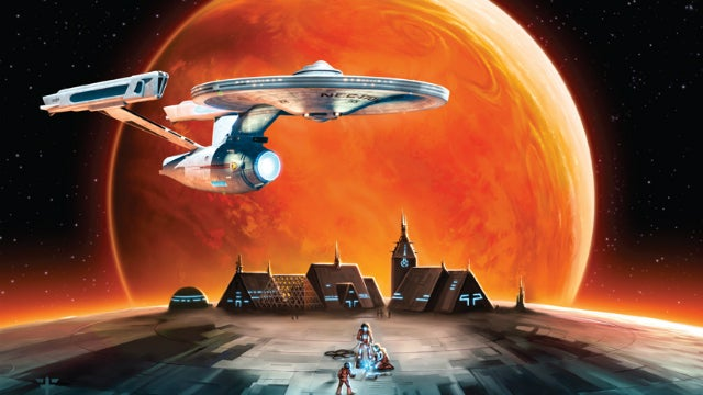 Boldly settle where no settler has settled before, with Star Trek: Catan