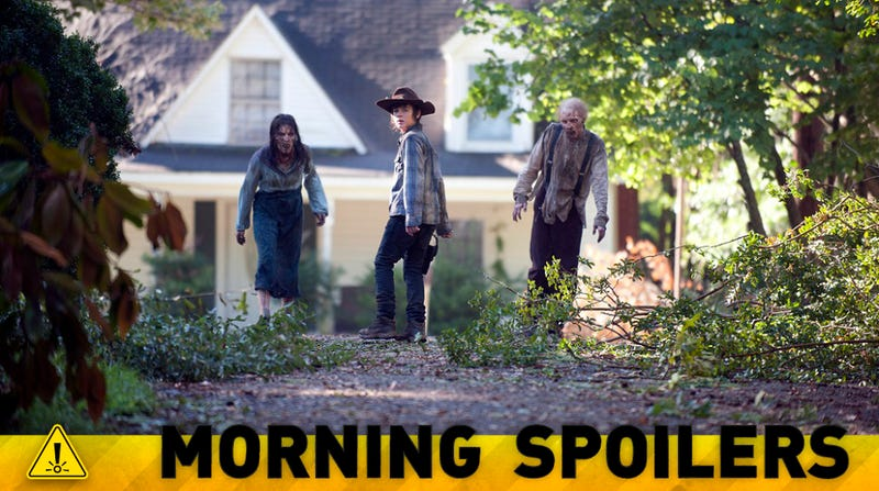 What Will Open The Walking Dead's Season 5? Plus a New Costume For Cap!