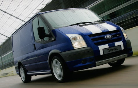 God Save the Packages: The Ford Transit SportVan