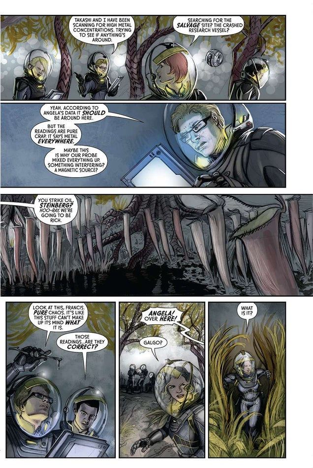Discover How The Prometheus Saga Continues In This Free Comic Preview
