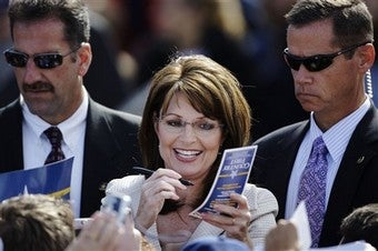 Lessons From Sarah Palin Are Lessons We Don't Need