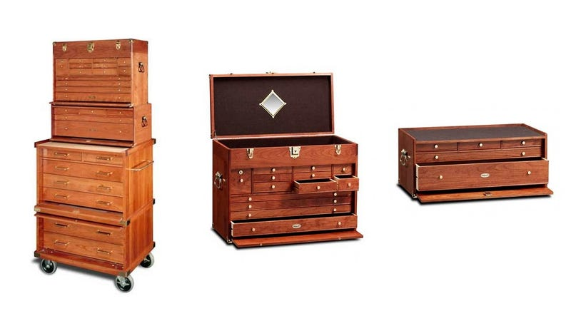 This Gorgeous Cherry Tool Chest Is Just Better Than Your Craftsman