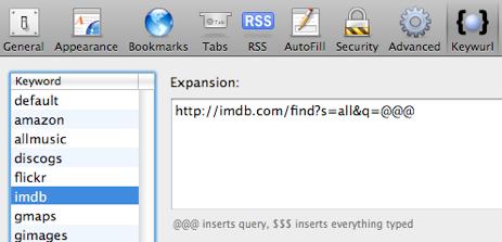 Add Keyword Search to Safari with Keywurl