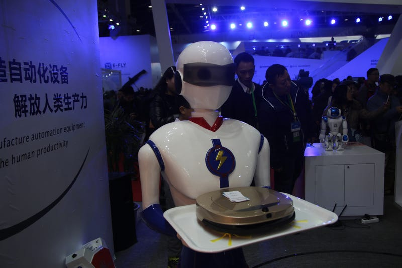 This Week, China Introduced Us to Robots Who Come From the Future