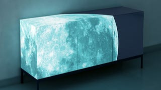Fancy Up Your Home With a Glowing Moon Credenza